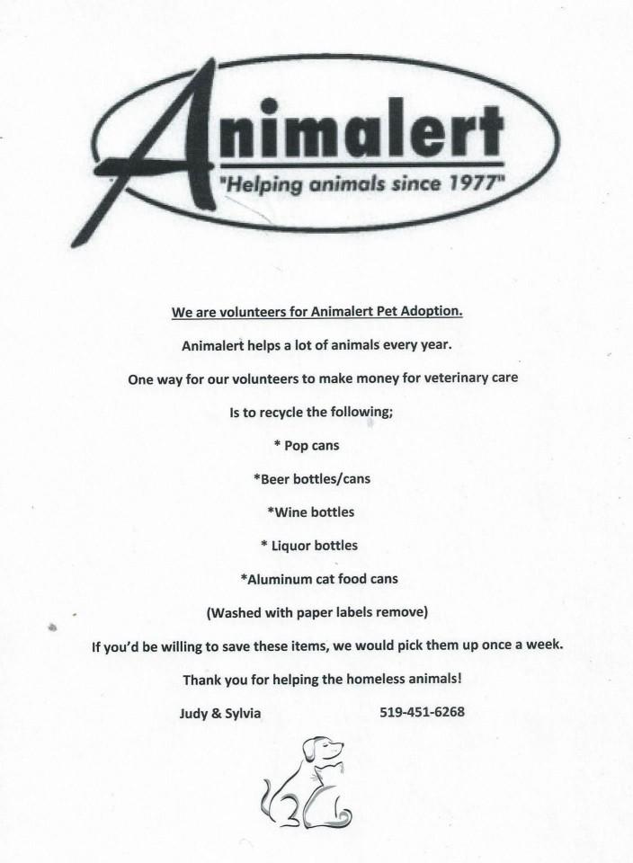 Animalert's pop/beer can, bottles Collection