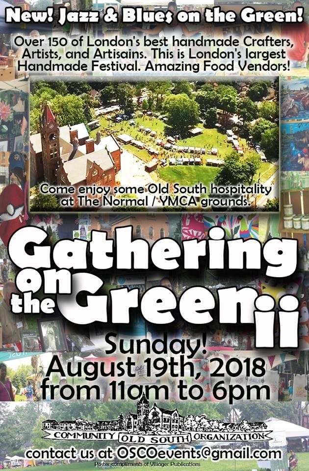 Come join Whimsies by Garden Gals @ Gathering on the Green II,  Sunday, August 19, 2018